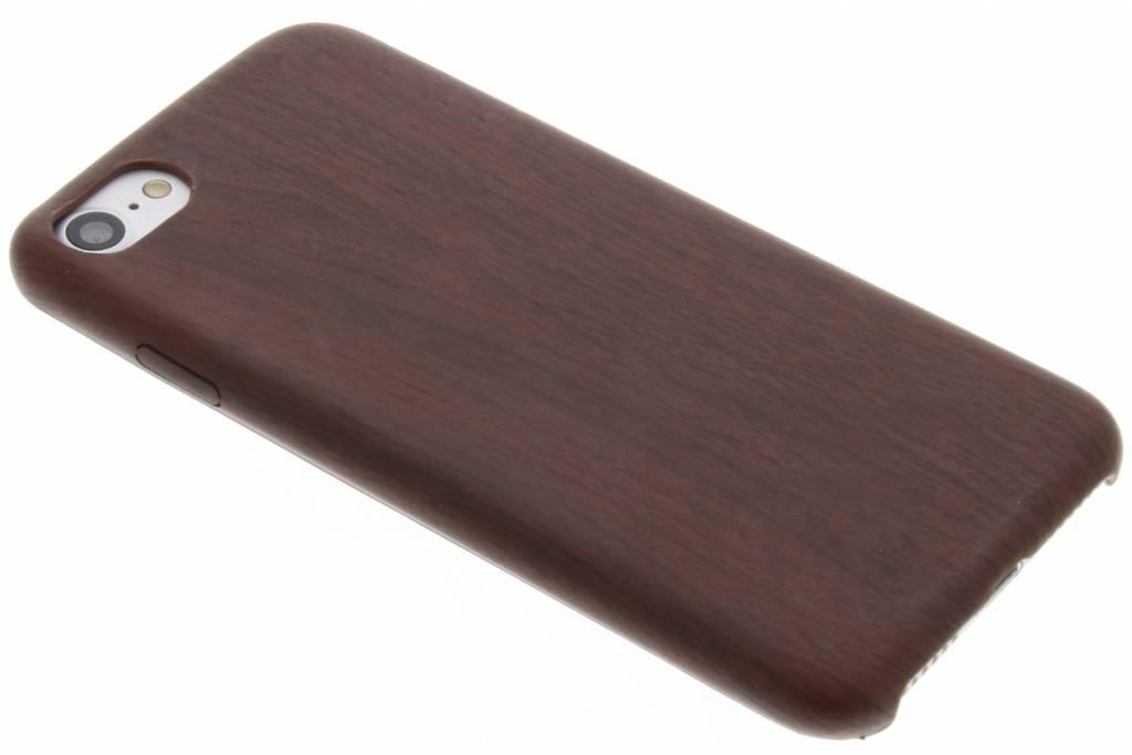 Bruine houten TPU case voor de iPhone 8 / 7