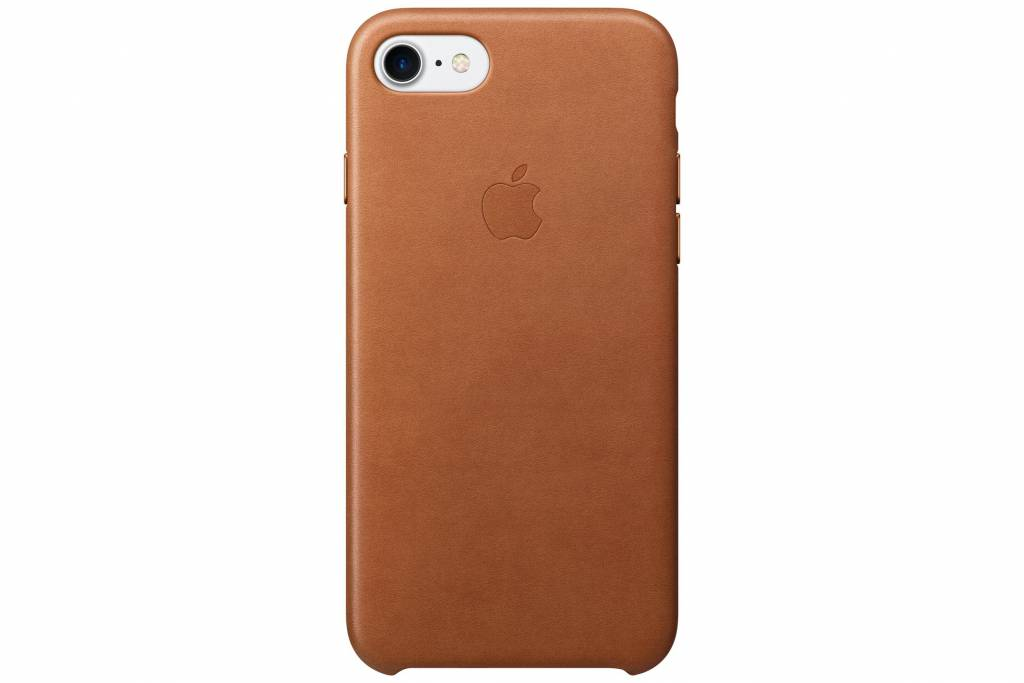 Apple Leather Case voor de iPhone 7 - Saddle Brown
