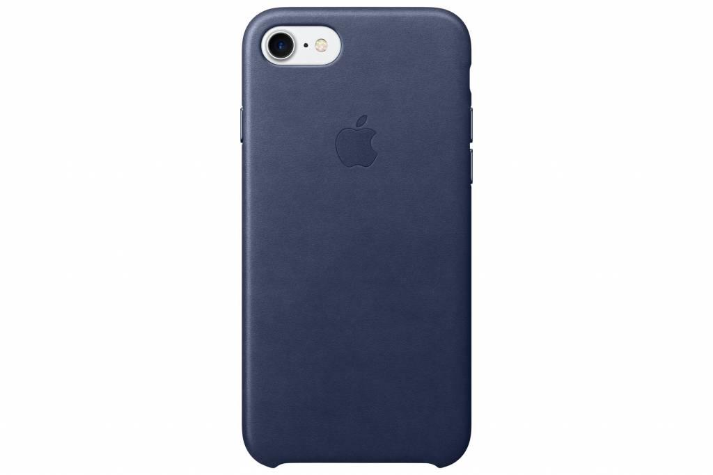 Apple Leather Case voor de iPhone 8 / 7 - Midnight Blue