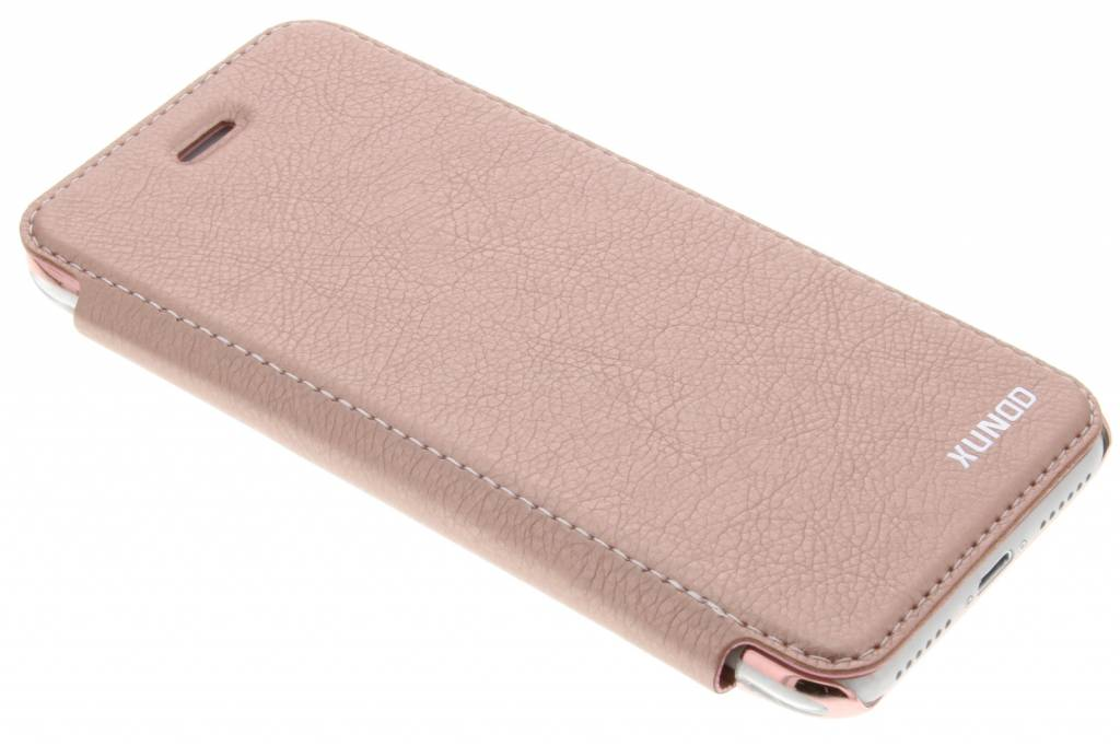 Roze crystal slim book Case voor de iPhone 8 / 7