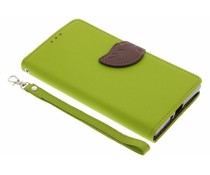 Blad design TPU booktype hoes Sony Xperia XZ / XZs
