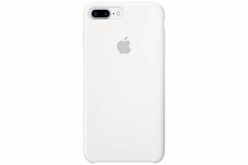 Apple Silicone Case voor de iPhone 7 Plus - Wit