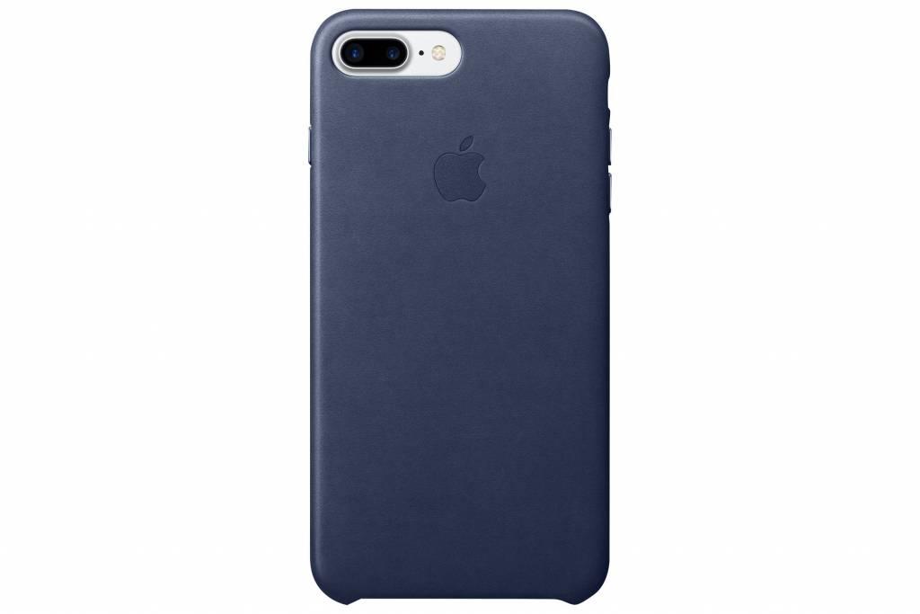 Apple Leather Case voor de iPhone 7 Plus - Midnight Blue