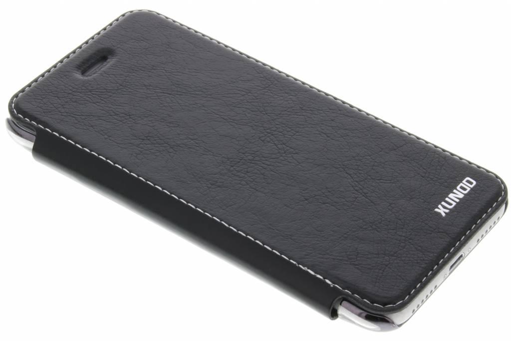 Zwarte crystal slim book case voor de iPhone 8 / 7