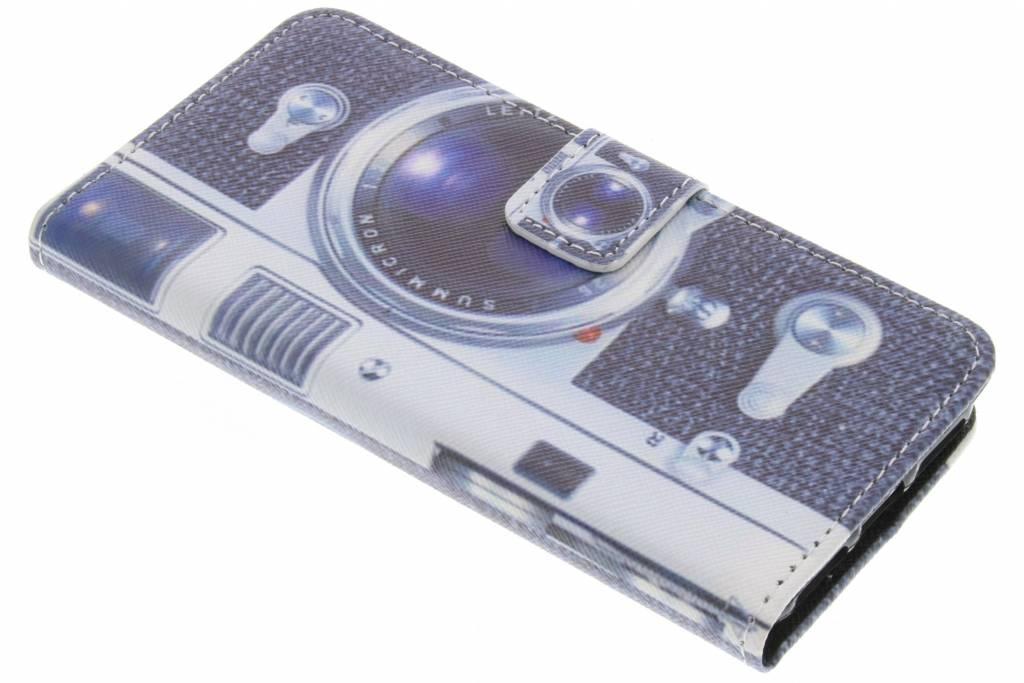 Camera design TPU booktype hoes voor de iPhone 8 / 7