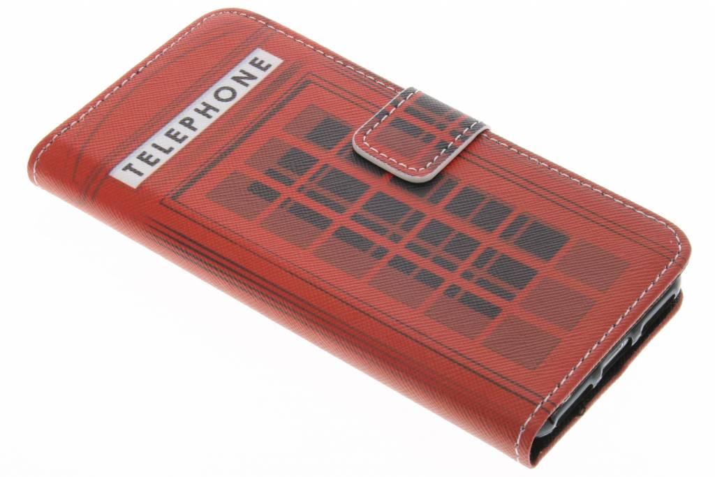 Telephone design TPU booktype hoes voor de iPhone 7