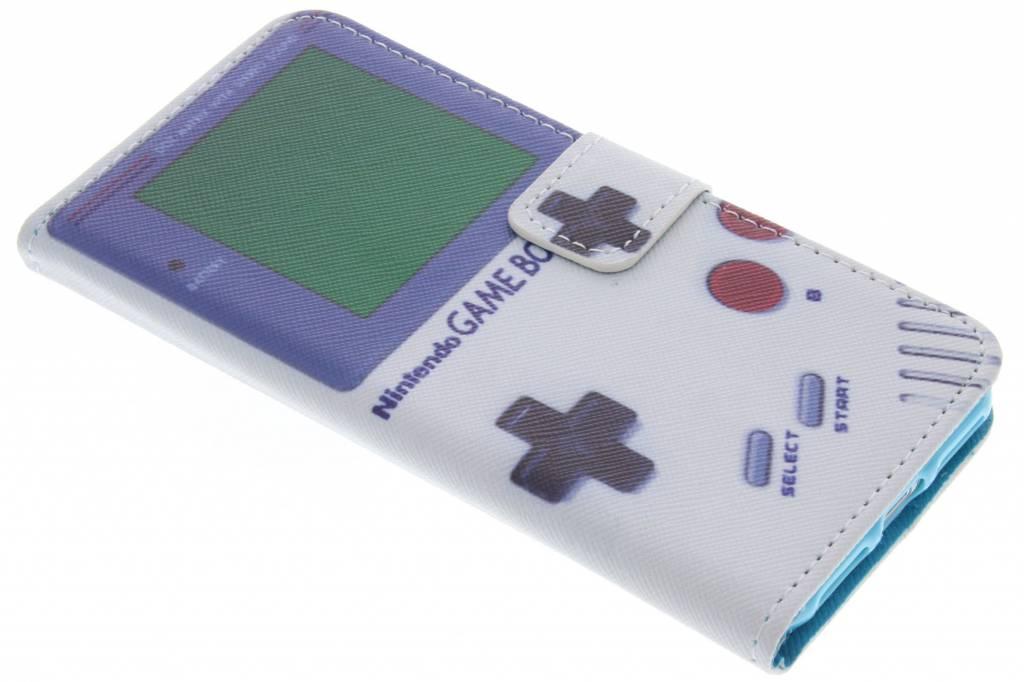 Game Boy design TPU booktype hoes voor de iPhone 8 / 7