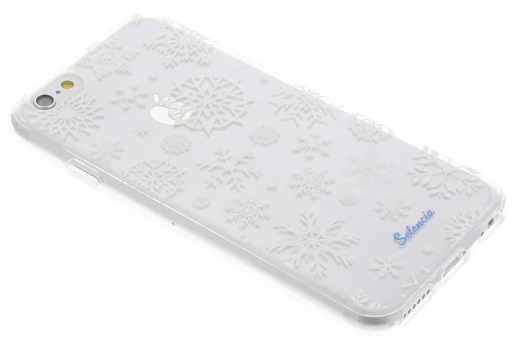 Winter Wonderland Sneeuwvlokken TPU hoesje voor de iPhone 6(s) Plus
