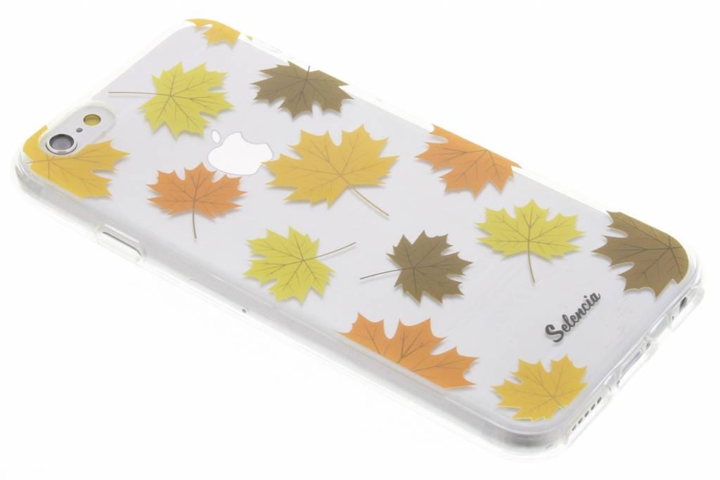 By Night Bladeren TPU hoesje voor de iPhone 6(s) Plus