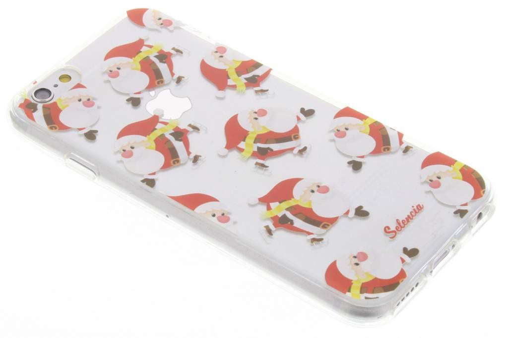 Winter Wonderland Kerstman TPU hoesje voor de iPhone 6(s) Plus