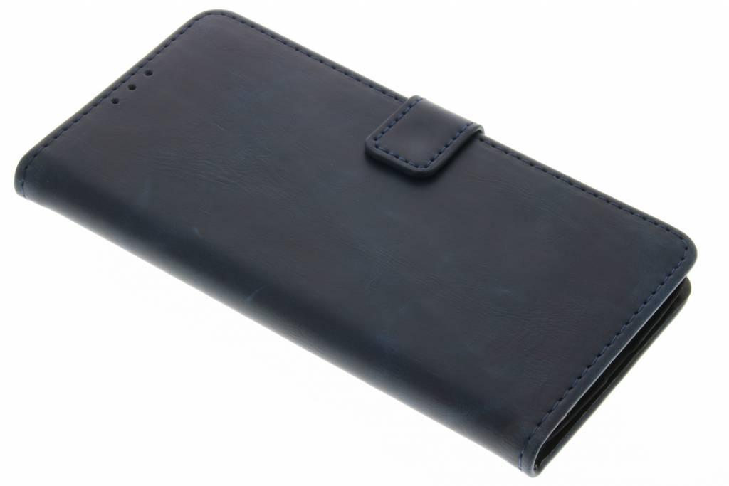 Type De Livre En Cuir De Luxe Bleu Foncé Cas Pour Motorola Moto Force Z 6xHpvqhUOJ