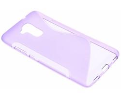 Paars S-line TPU hoesje Honor 5c / Huawei GT3
