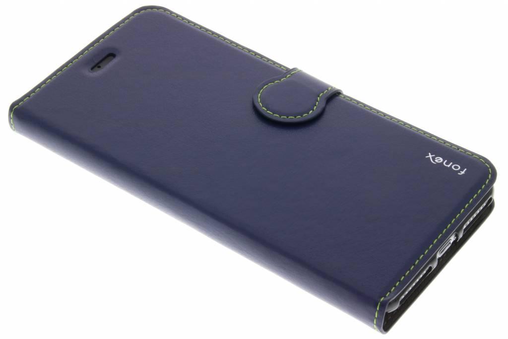 Fonex Identity Bookcase voor de iPhone 7 Plus - Blauw