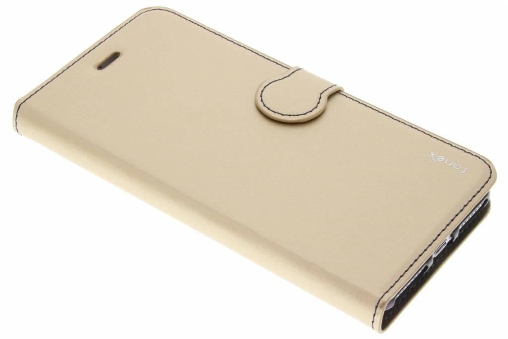 Fonex Identity Bookcase voor de iPhone 7 Plus - Goud