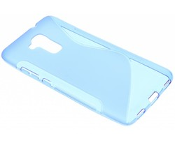 Blauw S-line TPU hoesje Honor 5 / Huawei GT3