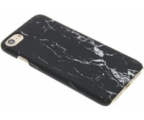 Zwart marmer look hardcase hoesje iPhone 7