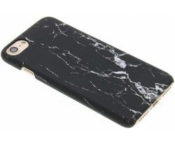Zwart marmer look hardcase hoesje iPhone 8 / 7
