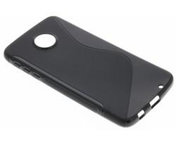 Zwart S-line TPU hoesje Motorola Moto Z Play