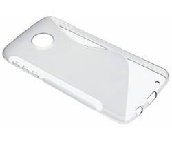 Grijs S-line TPU hoesje Motorola Moto Z Play