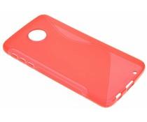 Rood S-line TPU hoesje Motorola Moto Z Play