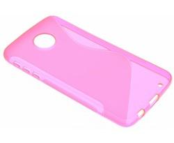 Rosé S-line TPU hoesje Motorola Moto Z Play