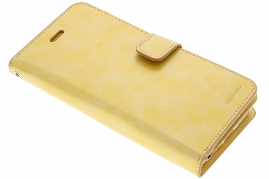 Mercury Goospery Mansoor Wallet Diary Case voor de iPhone 7 Plus - Goud