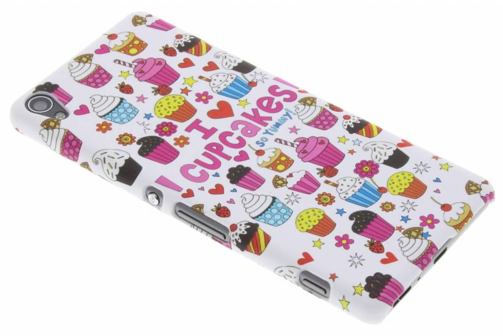 Cupcakes design hardcase hoesje voor de Sony Xperia XA