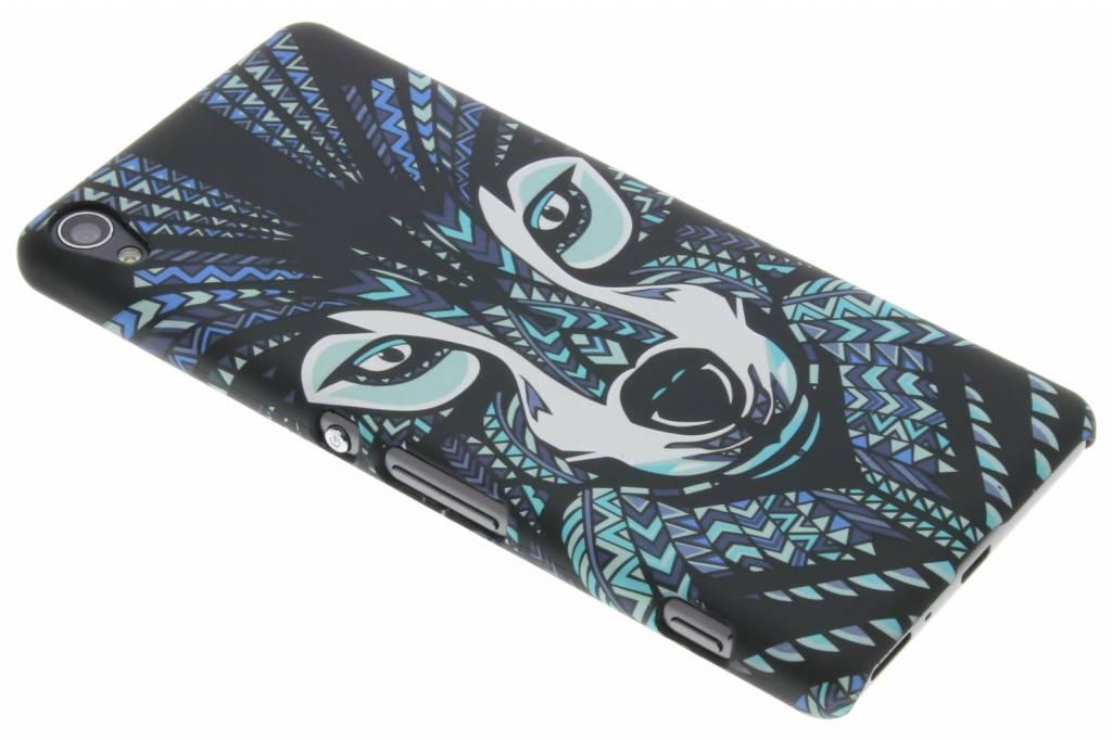 Wolf aztec animal design hardcase voor de Sony Xperia XA