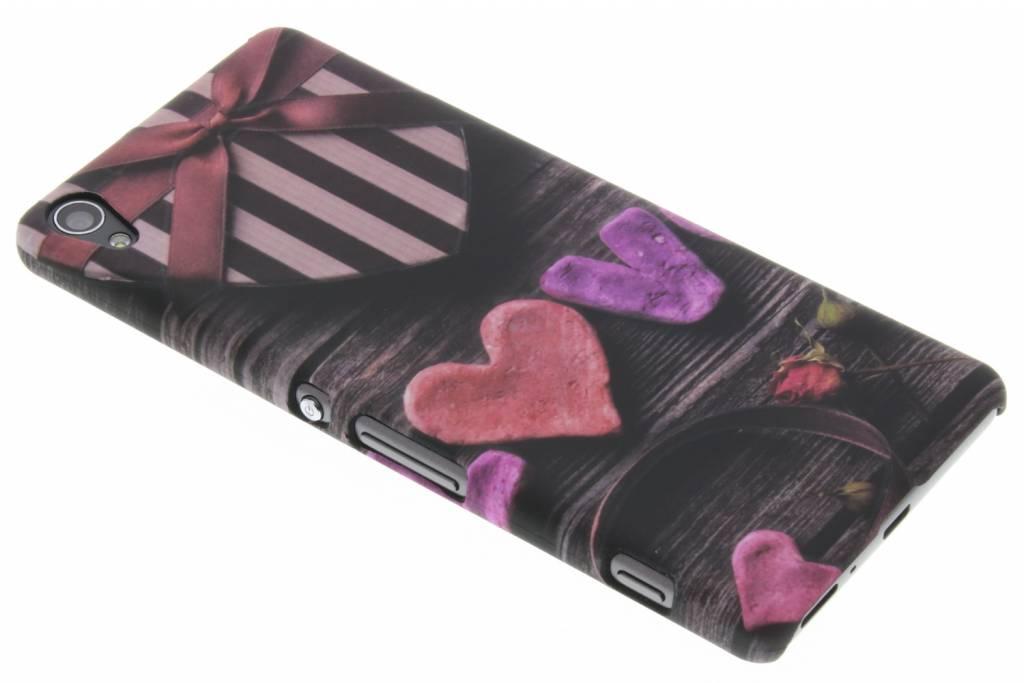 Love design hardcase hoesje voor de Sony Xperia XA