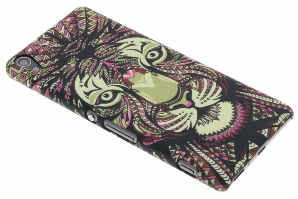 Tijger aztec animal design hardcase voor de Sony Xperia XA