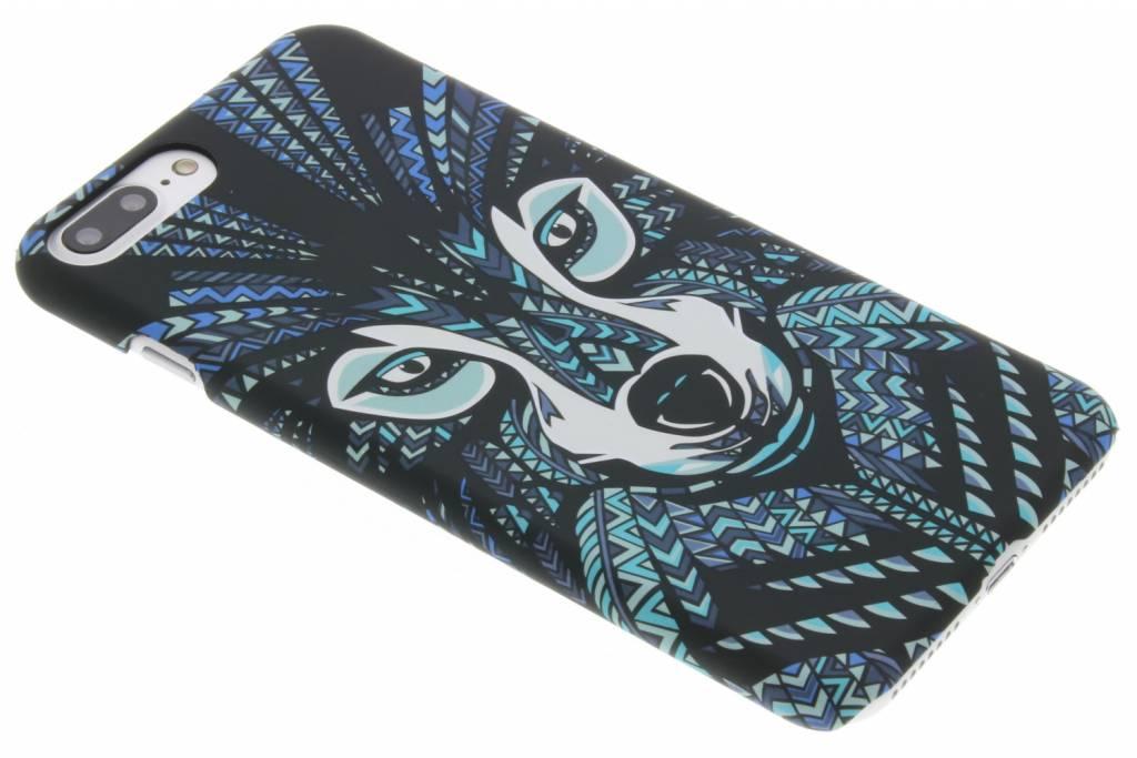 Wolf aztec animal design voor de iPhone 8 Plus / 7 Plus