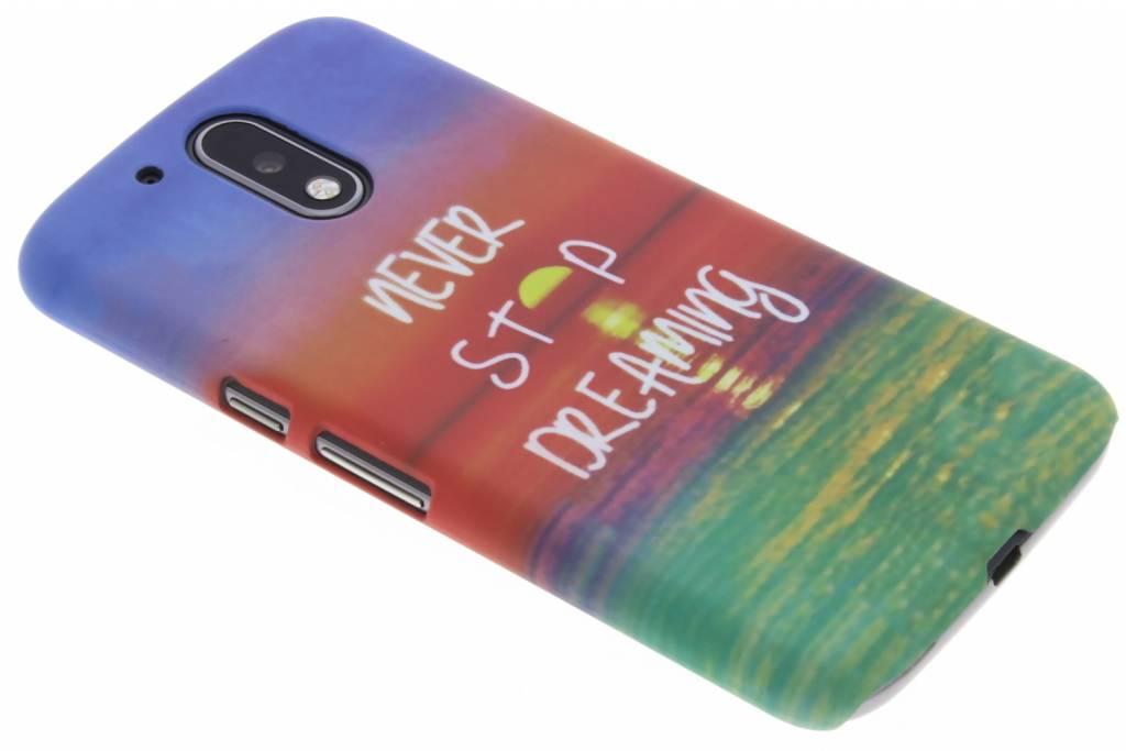 Dreaming design hardcase hoesje  voor de Motorola Moto G4 (Plus)