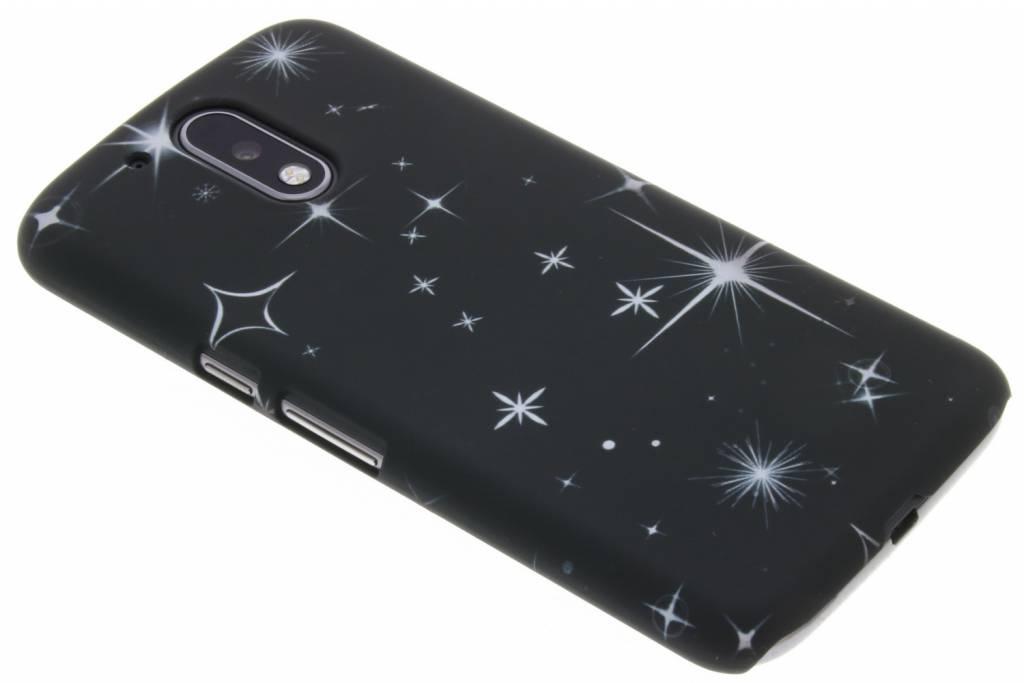 Sterren design hardcase hoesje voor de Motorola Moto G4 (Plus)