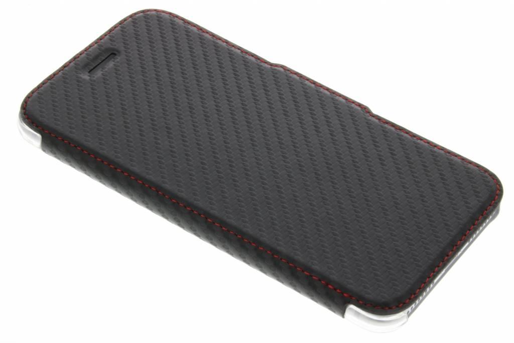 X-Doria Engage Folio Booklet Carbon voor de iPhone 7 Plus - Zwart