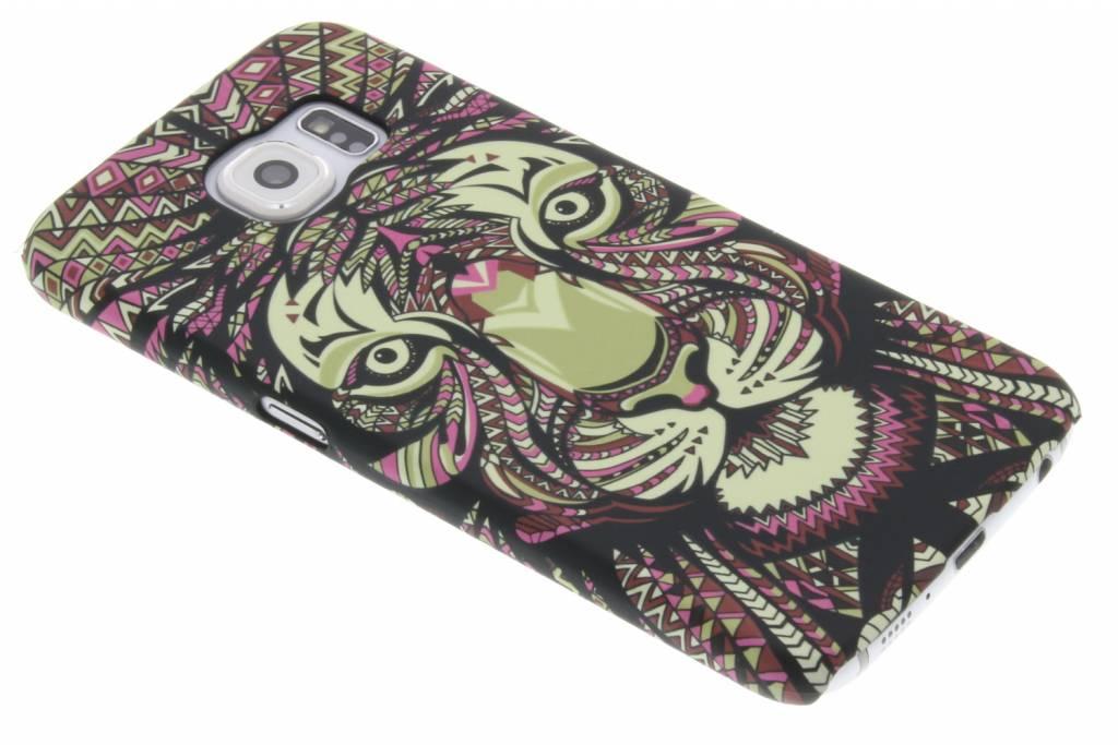 Tijger aztec animal design hardcase voor de hardcase Samsung Galaxy S6