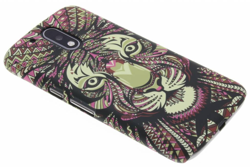 Tijger aztec animal design voor de Motorola Moto G4 (Plus)