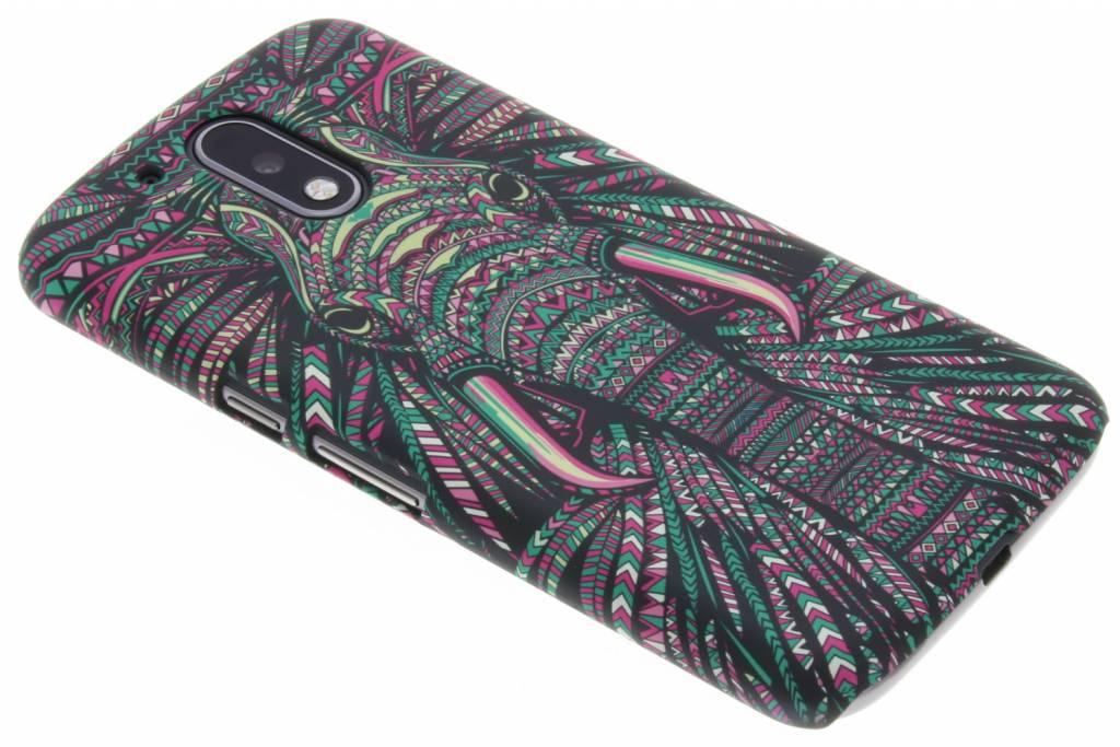 Olifant aztec animal design voor de Motorola Moto G4 (Plus)
