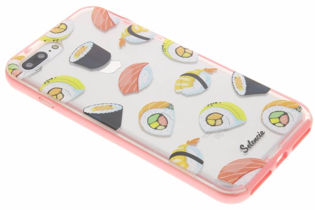Selencia Foodies Sushi TPU hoesje voor de iPhone 7 Plus