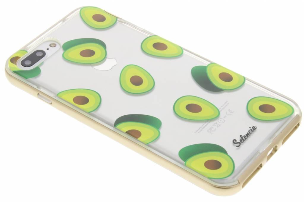 Selencia Foodies Avocado TPU hoesje voor de iPhone 7 Plus