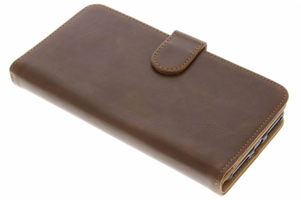 Bruine 19-vaks Wallet Case voor de iPhone 7 Plus