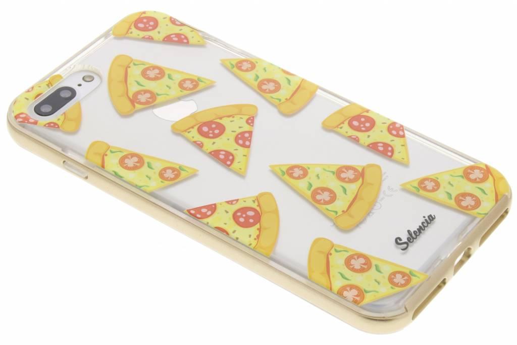 Selencia Foodies Pizza TPU hoesje voor de iPhone 7 Plus