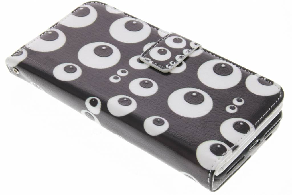 Ogen design TPU portemonnee voor de iPhone 7 Plus