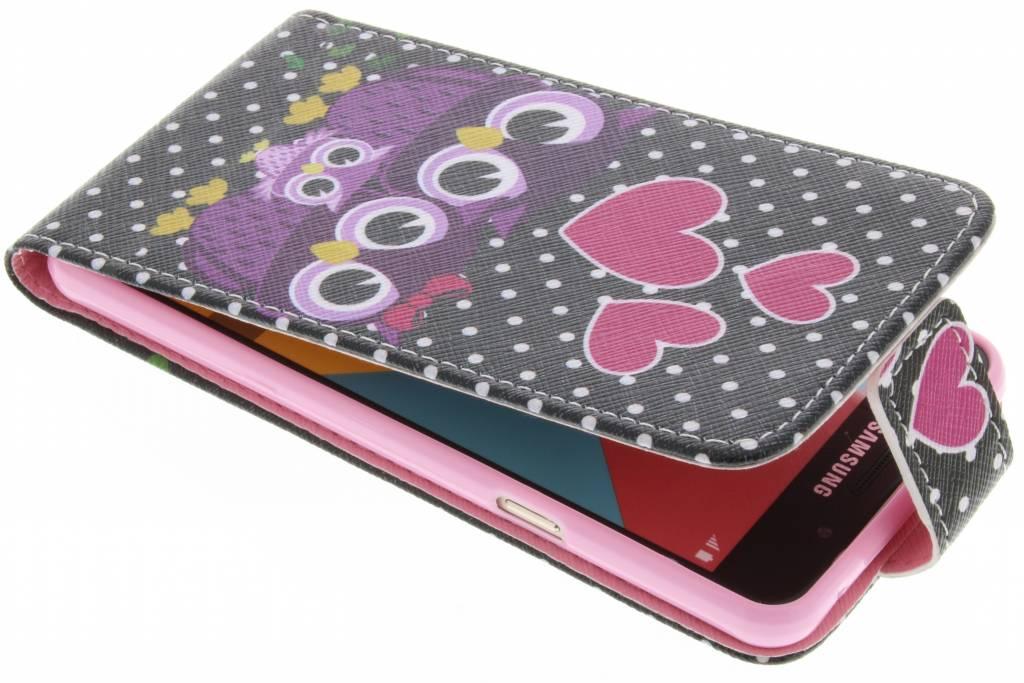 Uiltjes design TPU flipcase voor de Samsung Galaxy A5 (2016)