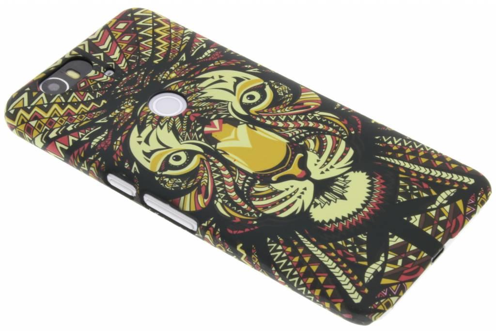 Tijger aztec animal design design voor de Huawei Nexus 6P