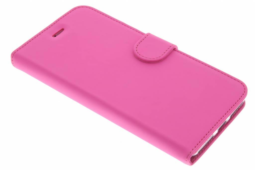 Accezz Wallet TPU Booklet voor de iPhone 8 Plus / 7 Plus - Roze