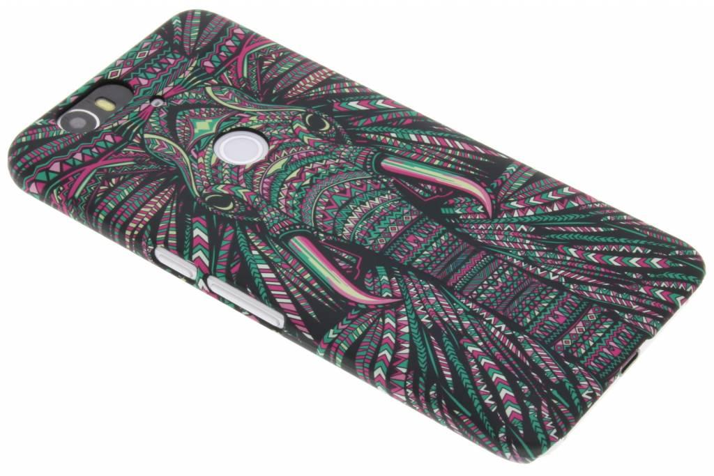 Olifant aztec animal design design voor de Huawei Nexus 6P