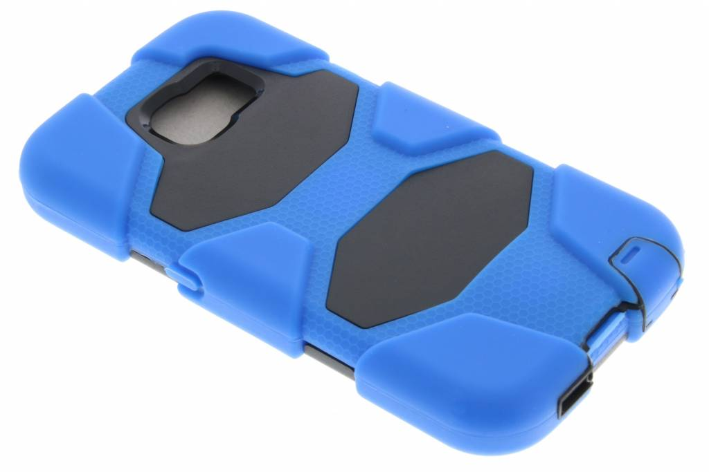 Blauwe extreme protection army case voor de Samsung Galaxy S6