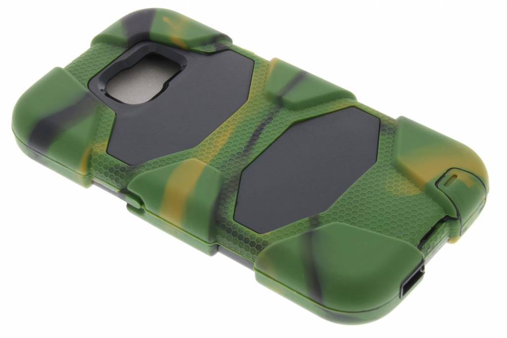 Legergroene extreme protection army case voor de Samsung Galaxy S6