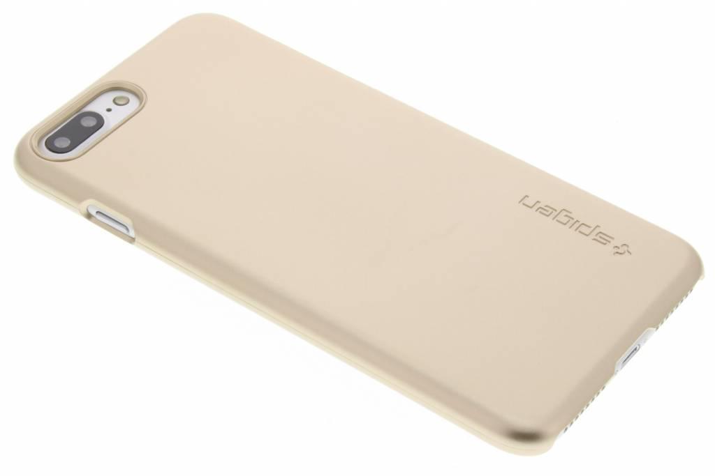 Spigen Thin Fit Hardcase voor de iPhone 7 Plus - Goud