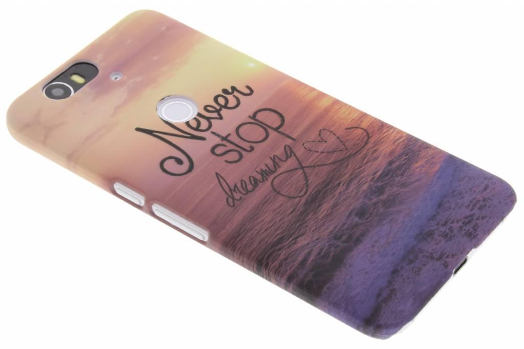 Dreaming design hardcase hoesje voor de Huawei Nexus 6P